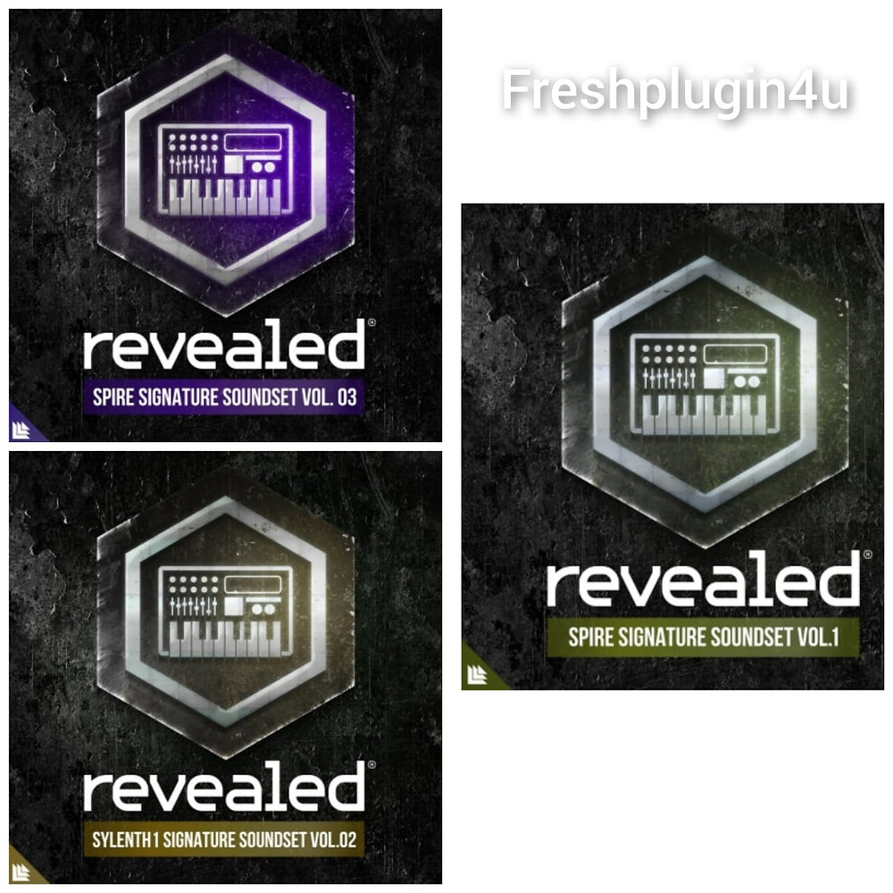 free Revealed Spire Signature Soundset Vol.1,2, and 3