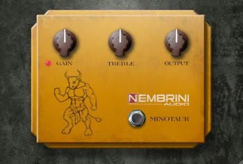 download for free Nembrini Audio Clon Minotaur (Transparent Overdrive) v1.0.2 x64 VST VST3 AU AAX WiN MAC [FREE]