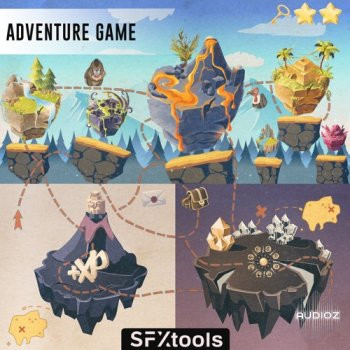 download for free SFXtools Adventure Game WAV