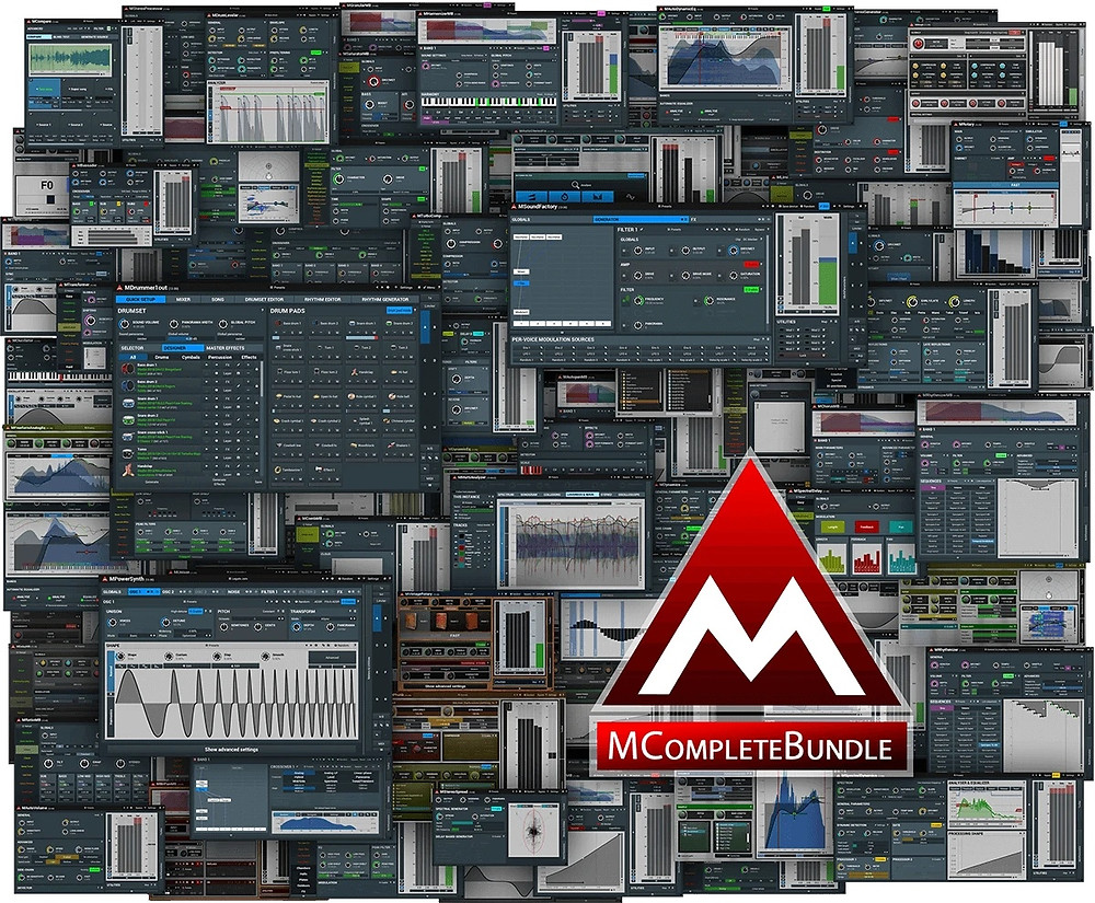 MeldaProduction - MCompleteBundle v14.16 VST / VST3 / AAX x86 x64 Free Download