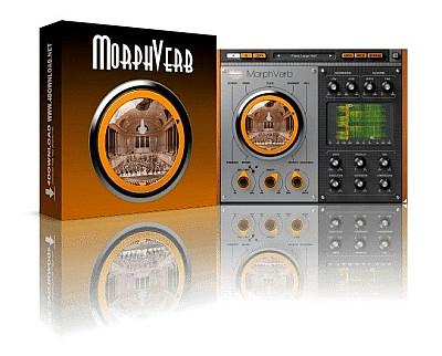download for free United Plugins & Muramasa Audio - MorphVerb 1.1 VST, VST3, AAX x86 x64
