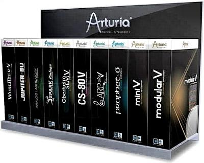 free Arturia - V Collection + FX Bundle 8 x64