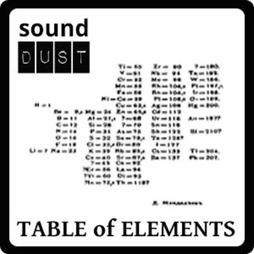 free Sound Dust Table of Elements For Omnisphere