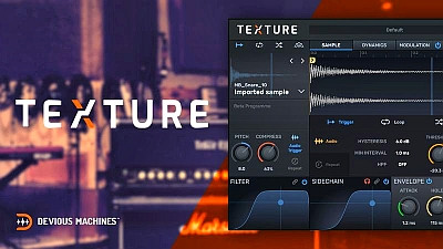 download for free Devious Machines - Texture 1.6.1 VST, AAX x86 x64