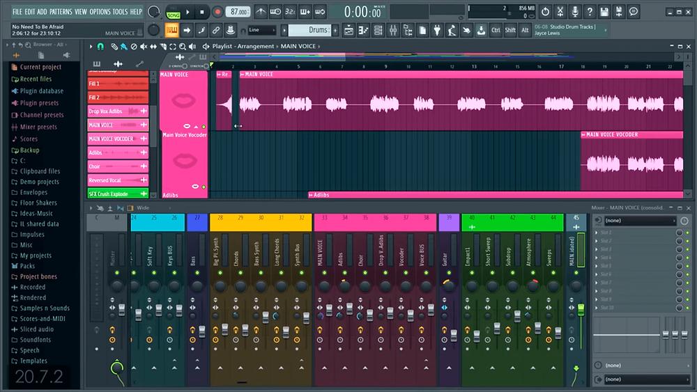 FL Studio 20.7.3 crack 2021