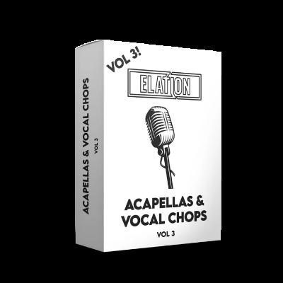 download for free Elation Sounds - Acapellas & Vocal Chops Vol. 3 (MIDI, MP3)