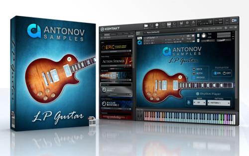 download for free Antonov Samples - LP Guitar (KONTAKT)