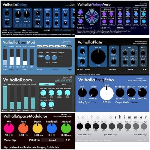 Valhalla DSP - Valhalla DSP bundle 2020.11 VST / VST3 / AAX x64 Free Download