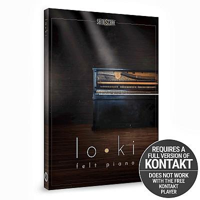 Download free Sonuscore - lo • ki - Felt Piano (KONTAKT)