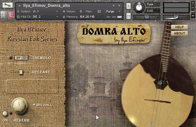 download for free Ilya Efimov - Alto Domra (KONTAKT)