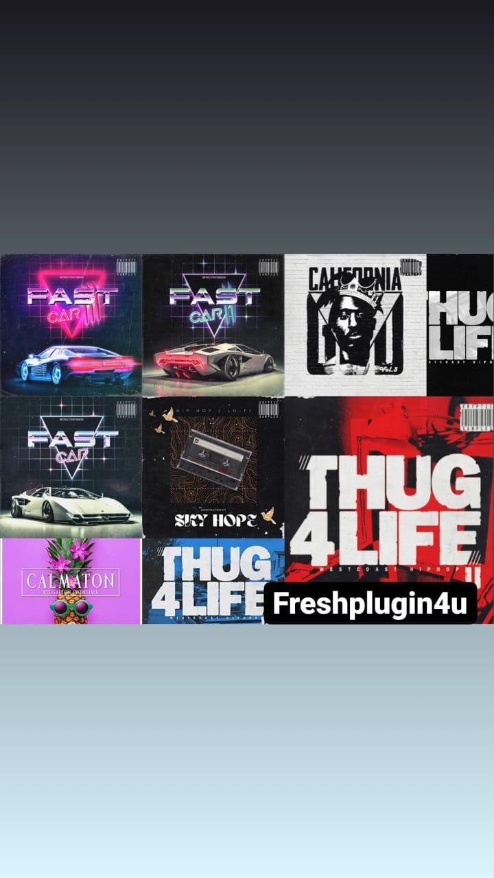 download for ffree Kryptic Samples Thug Bundlie Pack 2021