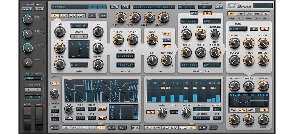 Reveal Sound - Spire 1.5.6 VSTi, AAX x86 x64