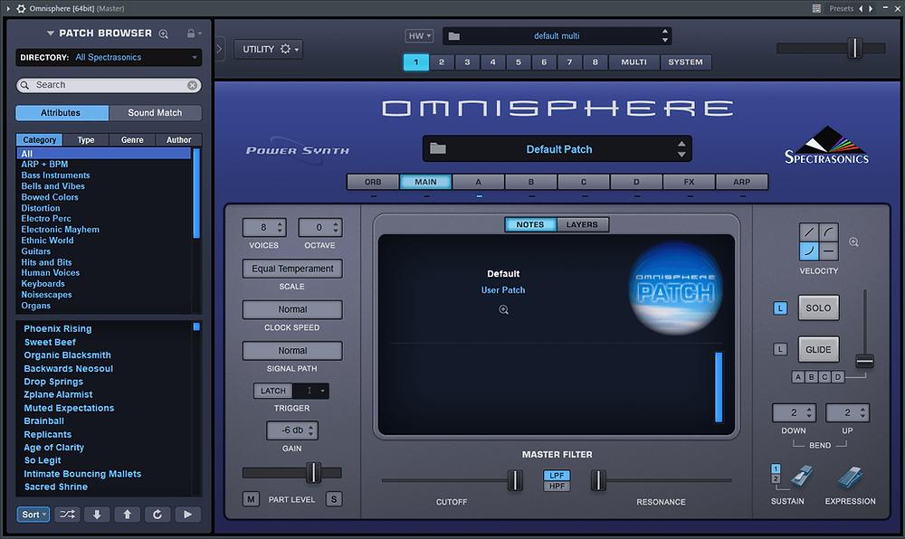 Spectrasonics - Omnisphere 2 Software Update v2.6.4c STANDALONE / VSTi / AAX / AUi x64 [Win-Mac]