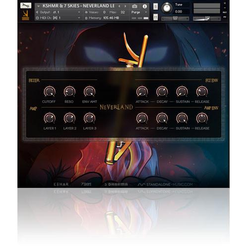 download for free KSHMR & 7 SKIES – NEVERLAND LEAD [kontakt]