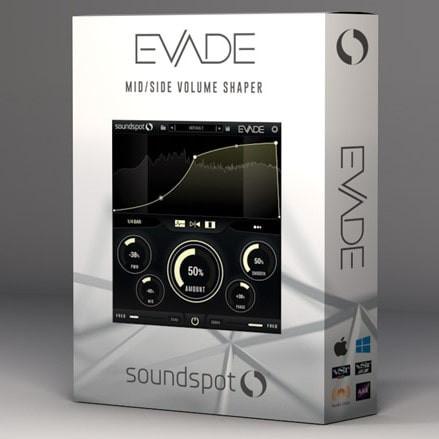 download for free SoundSpot Evade v1.0.2 VST VST3 AU AAX