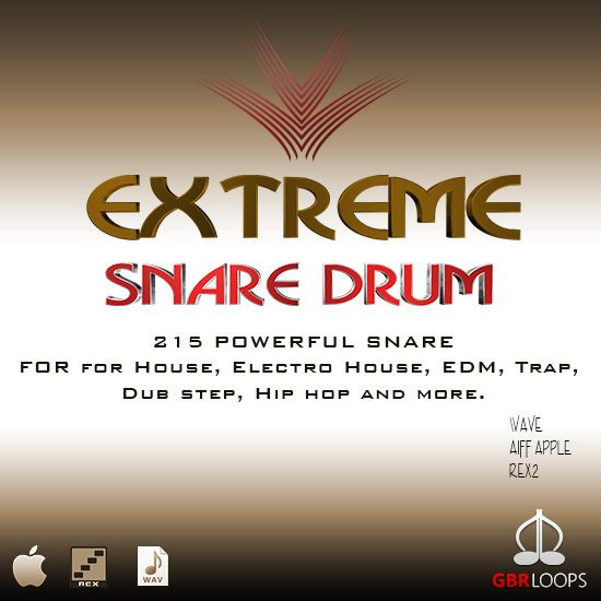 download for free  GBR Loops - Extreme Snare Drum (WAV, REX, AIFF)