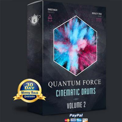free Ghosthack - Quantum Force 2 - Cinematic Drums (WAV)