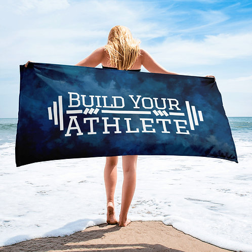 Build Your Athlete Beach Towel