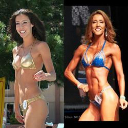 Bikini Competitor Evina Del Pizzo