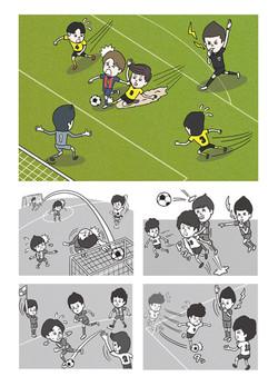 カンゼン クイズでサッカールール