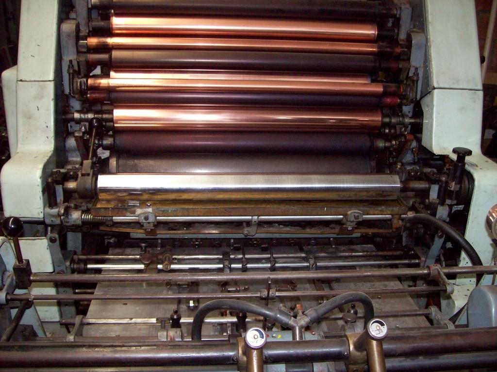 Impresora Offset  Solna 125  64.5 X