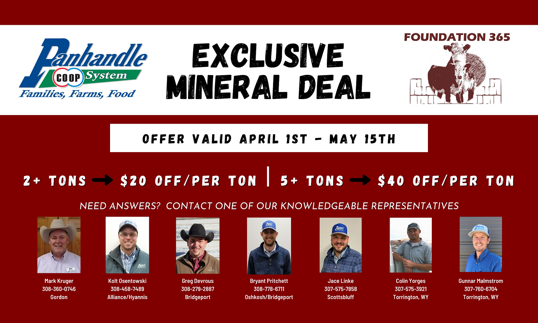 Foundation 365 Mineral Deal