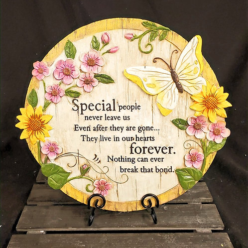 Special People Forever in Our Hearts Garden Stone