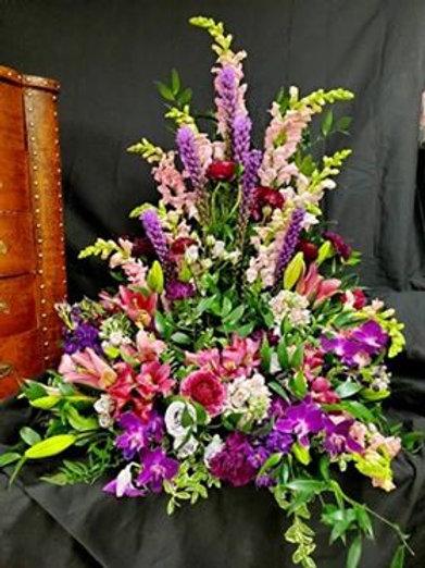Spring Garden Urn Arrangement