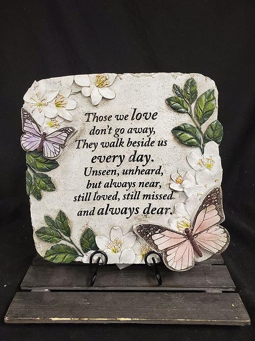 Those We Love Garden Stone