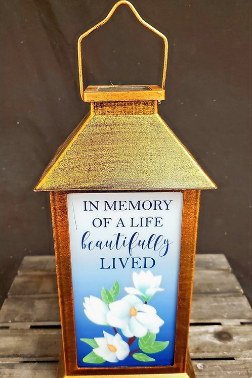 In Memory of a Life Lived Lantern