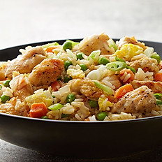 Stir Fried Rice with Chicken & Chilli Soya