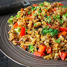 Sitr- Fried Vegetables with rice