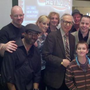 With The Amazing Kreskin and Joey Reynolds at the NASDAQ Studio, NY NY