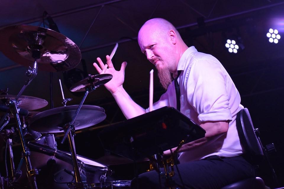 "Drummer Mike ""Killer"" Humbert"
