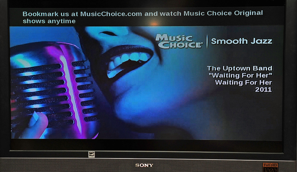 "The Uptown Band's original song ""Waiting for Her"" on Music Choice"