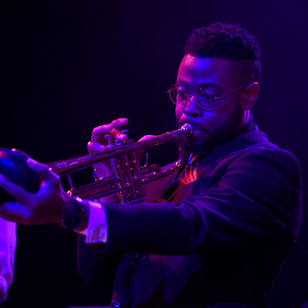 Trumpeter Mike Burton