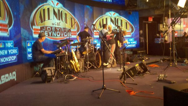 "Pre-Show for ""All Night with Joey Reynolds"" on NBC at NASDAQ Studio, NY NY"