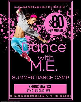 Copy of Hip Hop Dance Lessons Poster - M