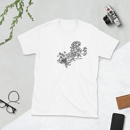 Wildflower Bunch Unisex Basic Softstyle T-Shirt