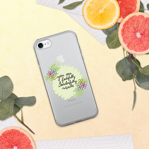You are Wonderfully Made iPhone Case