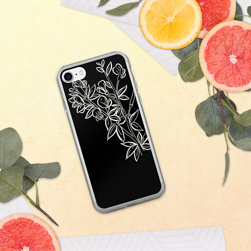 Branching Out (Dark) iPhone Case