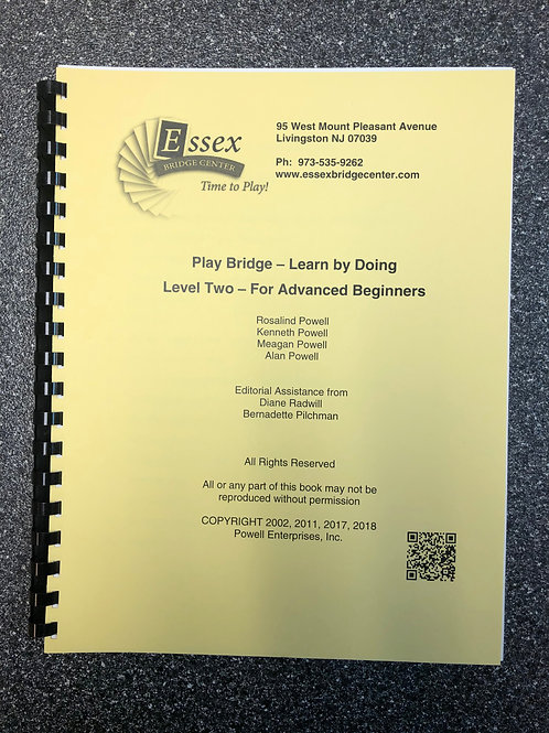 Play Bridge - Learn by Doing   --The Yellow Book