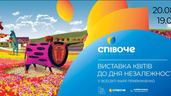 Живые фигуры и картины из цветов: на Спивочем пройдет выставка ко Дню независимости Украины.