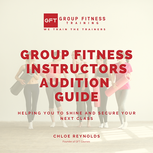 Group Fitness Instructors Audition Guide