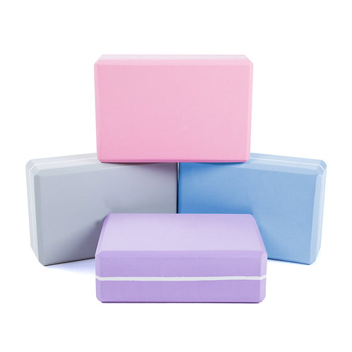 Pastel Yoga Block