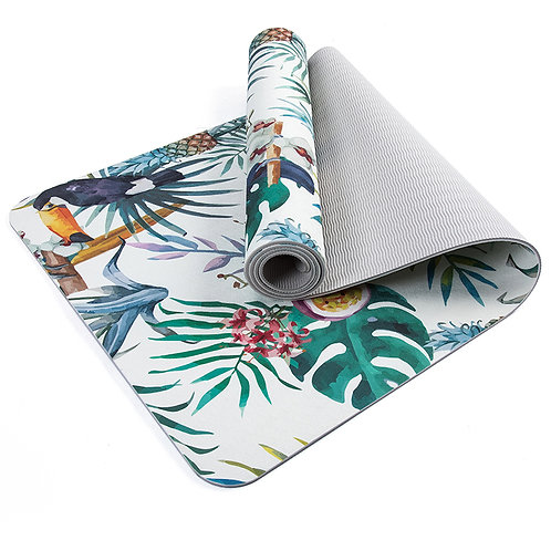Luxury Tropical Print Yoga Mat