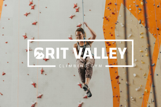 GRIT VALLEY CLIMBING LOGO