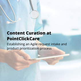 Content Curation at PointClickCare