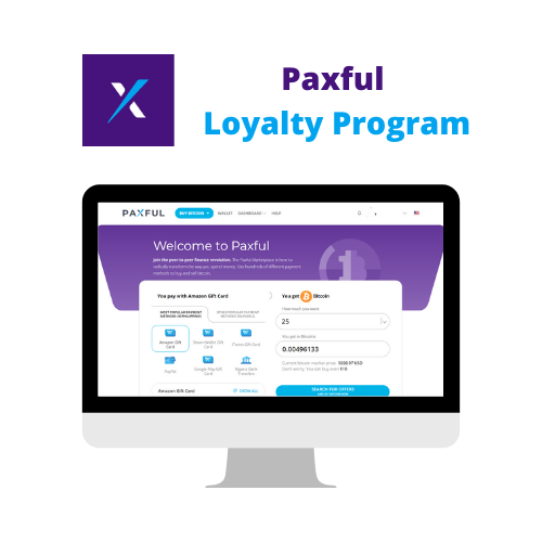 Design of a Loyalty Program for Paxful