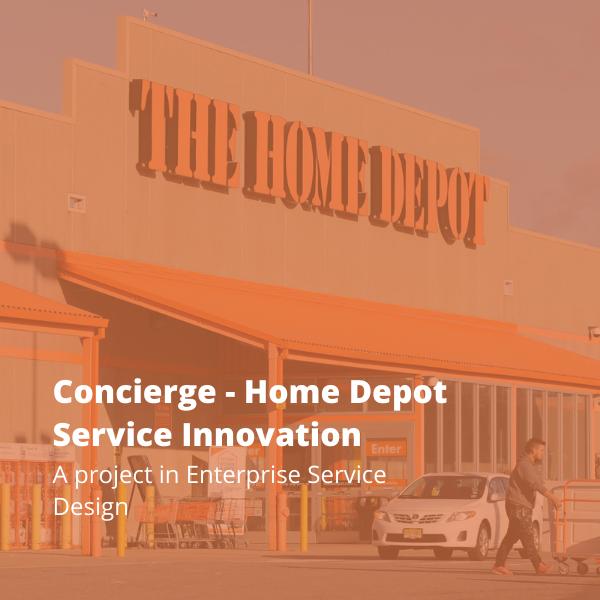 Service Design at Home Depot